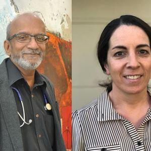 Dr Kate FitzGerald & Dr Jayachandran