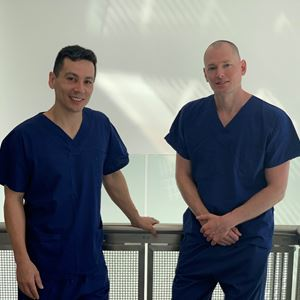 Dr Oliver Khoo and Dr Dennis Van Duivenbode
