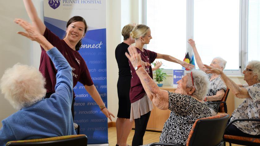 Queensland Ballet conduct movement classes at SVPH Brisbane