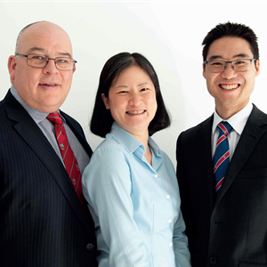 Mr Iain Skinner, Ms Audrey Yeo and Mr Michael Hong