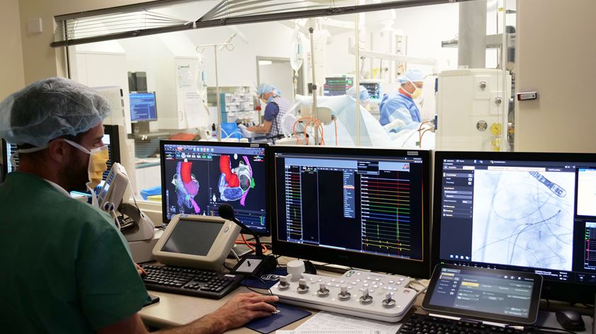 Upgraded Cardiac Catheterization Lab