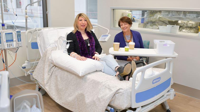East Melbourne Patient Room