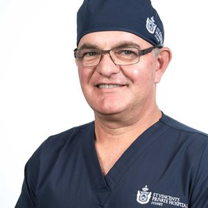 Dr Nick Vertzyas, Head of St Vincent's Private Orthopaedic Department